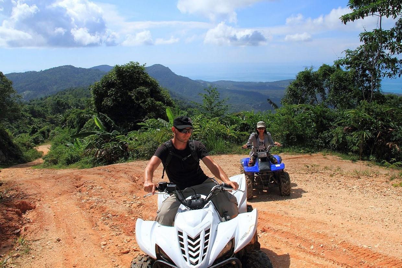 Samui Novice Waterfall ATV Tour 1