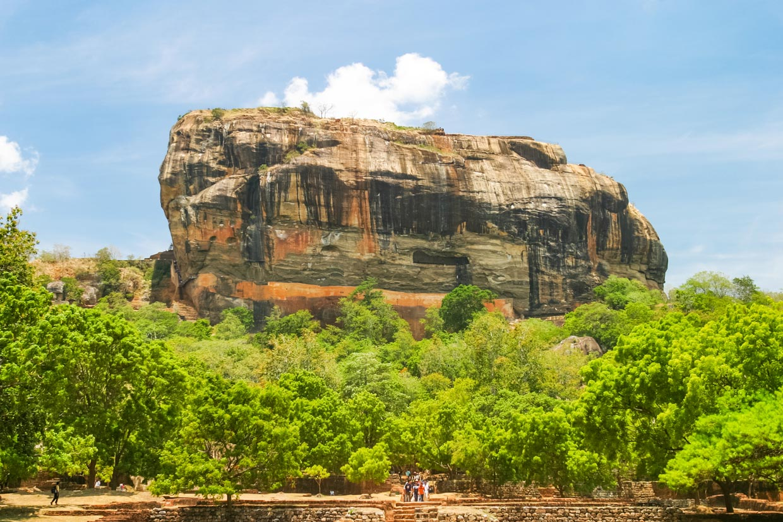 Sigiriya Fortress in Sri Lanka