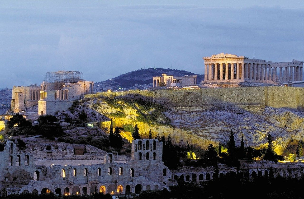 Acropolis in Greece