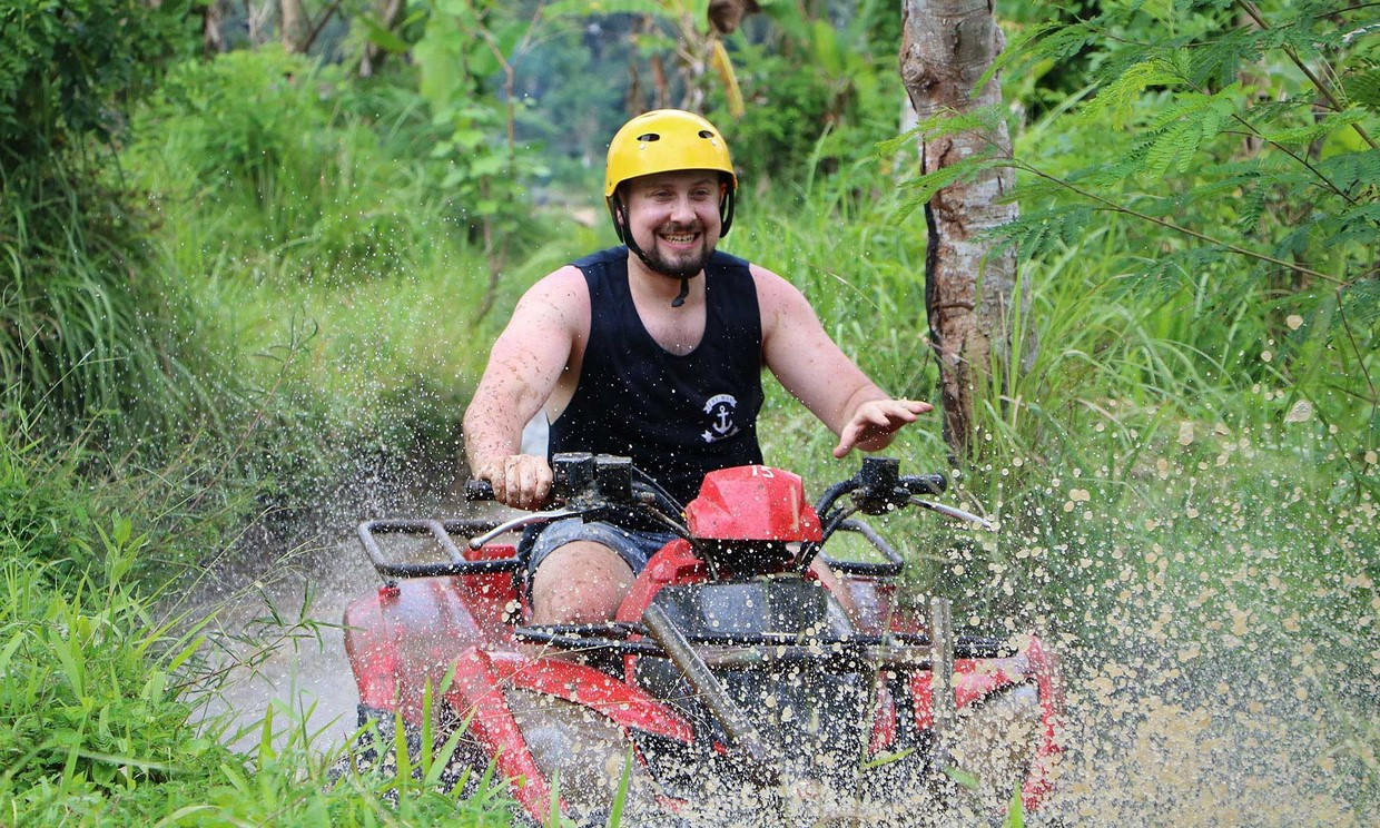 Bali Adventure Tour with Quad Bikes and Rafting 2