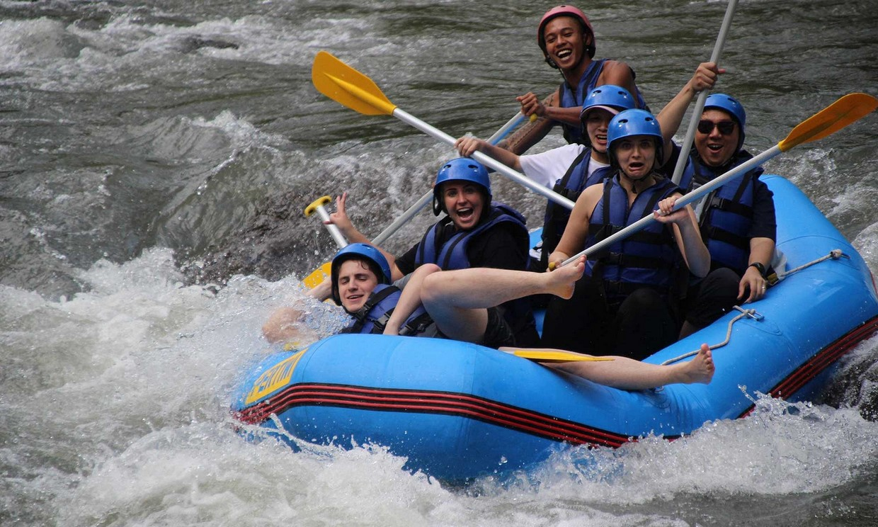 Bali Adventure Tour with Quad Bikes and Rafting 5