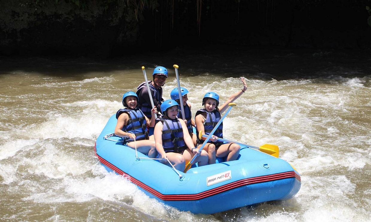 Bali Adventure Tour with Quad Bikes and Rafting 3