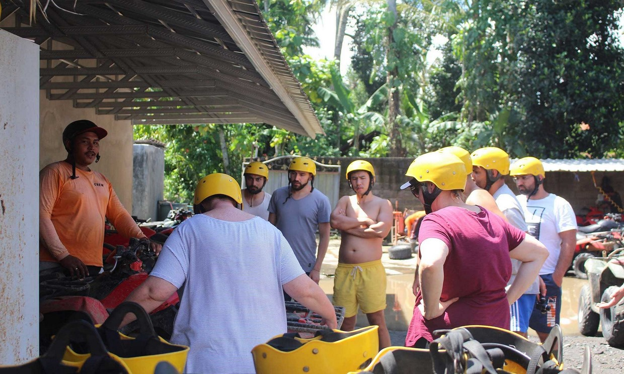 Bali Adventure Tour with Quad Bikes and Rafting 4