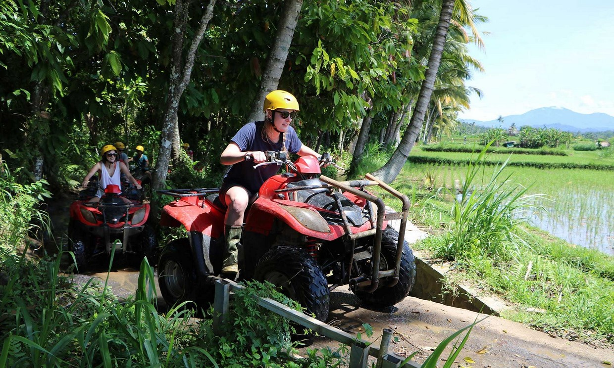 Bali Adventure Tour with Quad Bikes and Rafting 9
