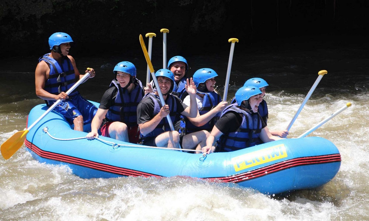 Bali Adventure Tour with Quad Bikes and Rafting 10