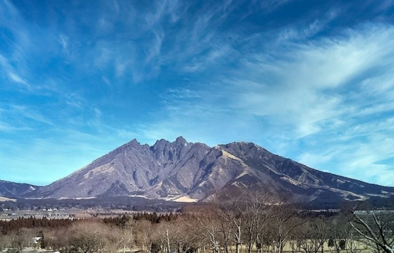 Great Nature Mount Aso from Fukuoka 1