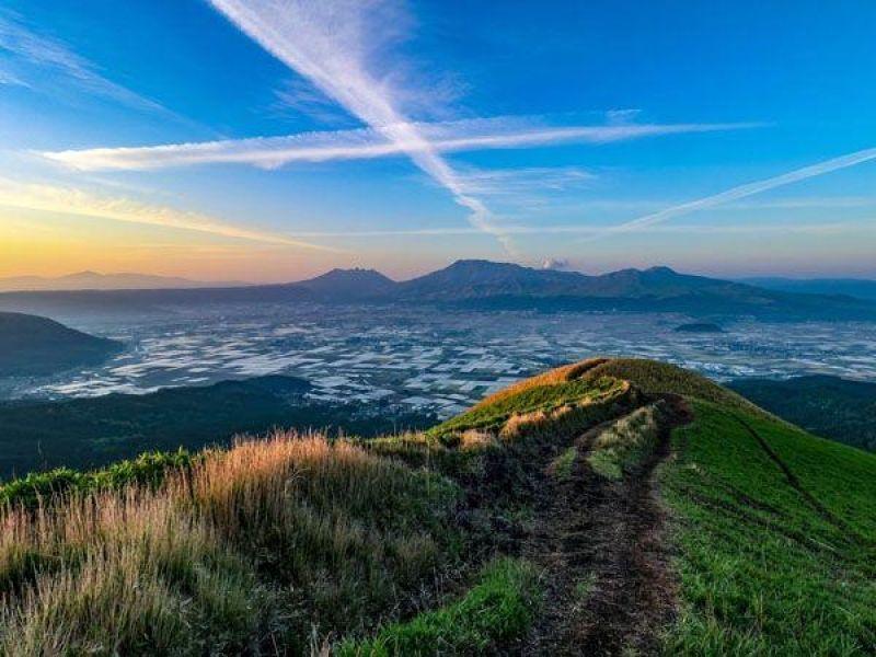 Great Nature Mount Aso from Fukuoka 3
