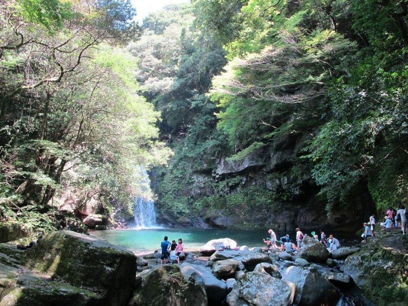 Todoroki Waterfall from Fukuoka 3