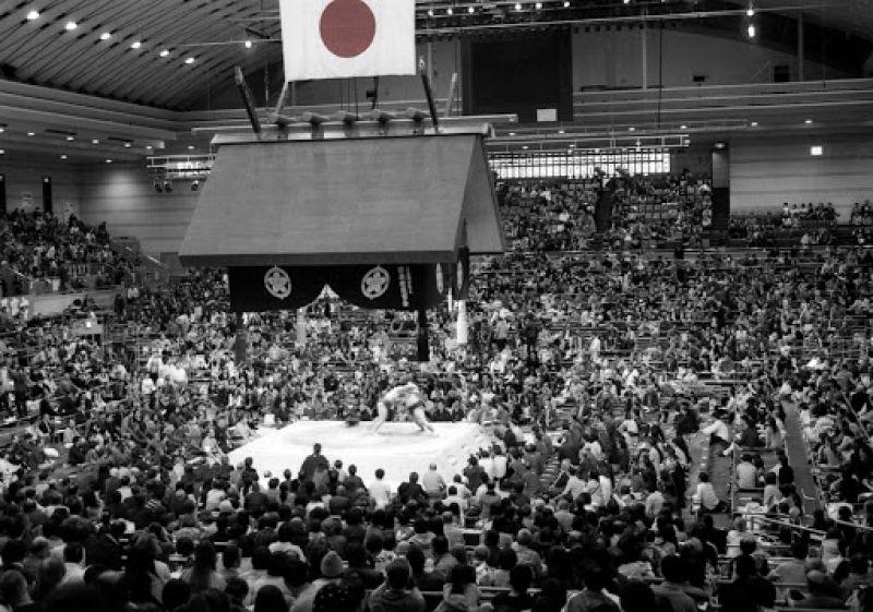 Watching Kabuki, Baseball and Sumo Game at Fukuoka 2