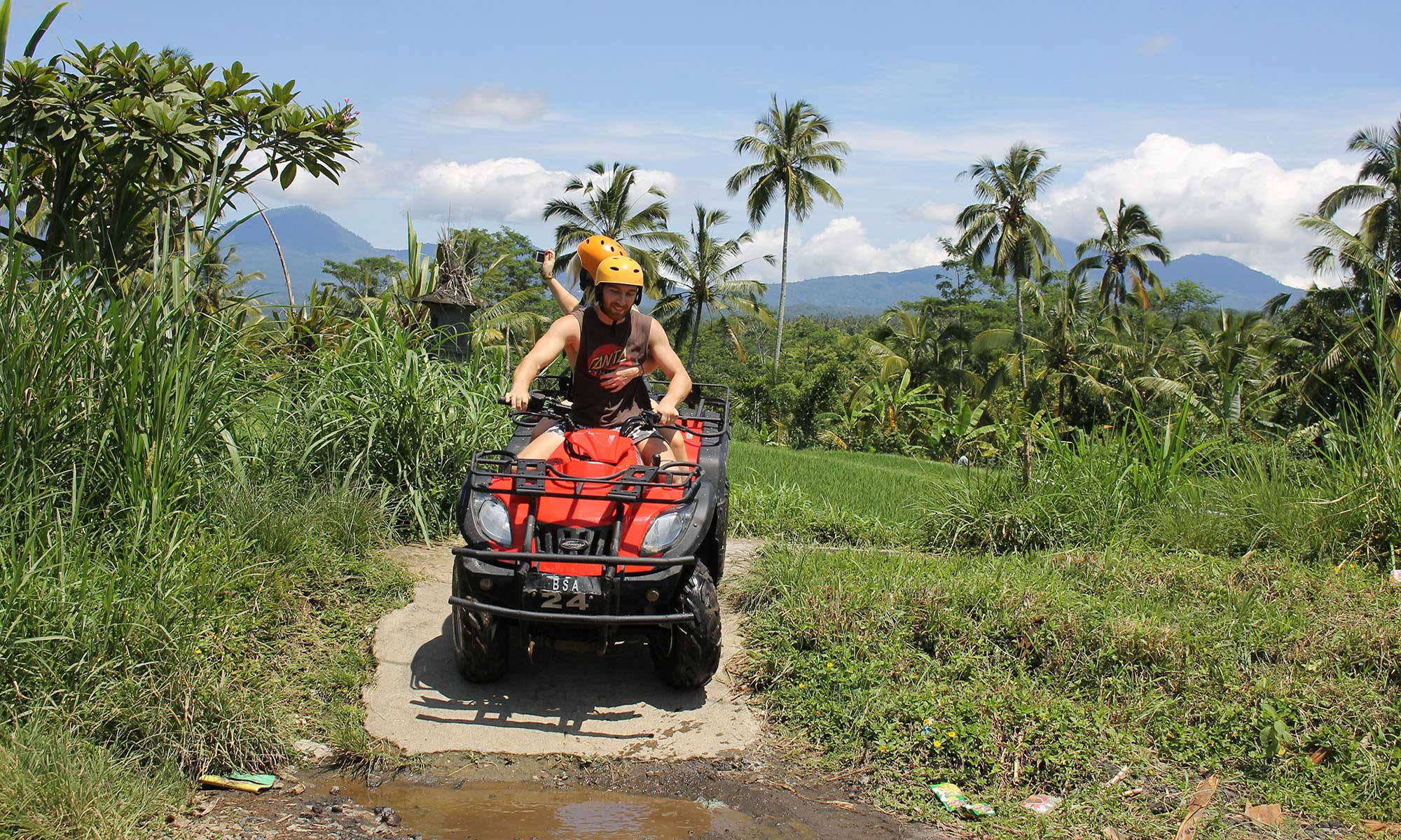 Bali Quad Bike Adventure with Private Hotel Transfers