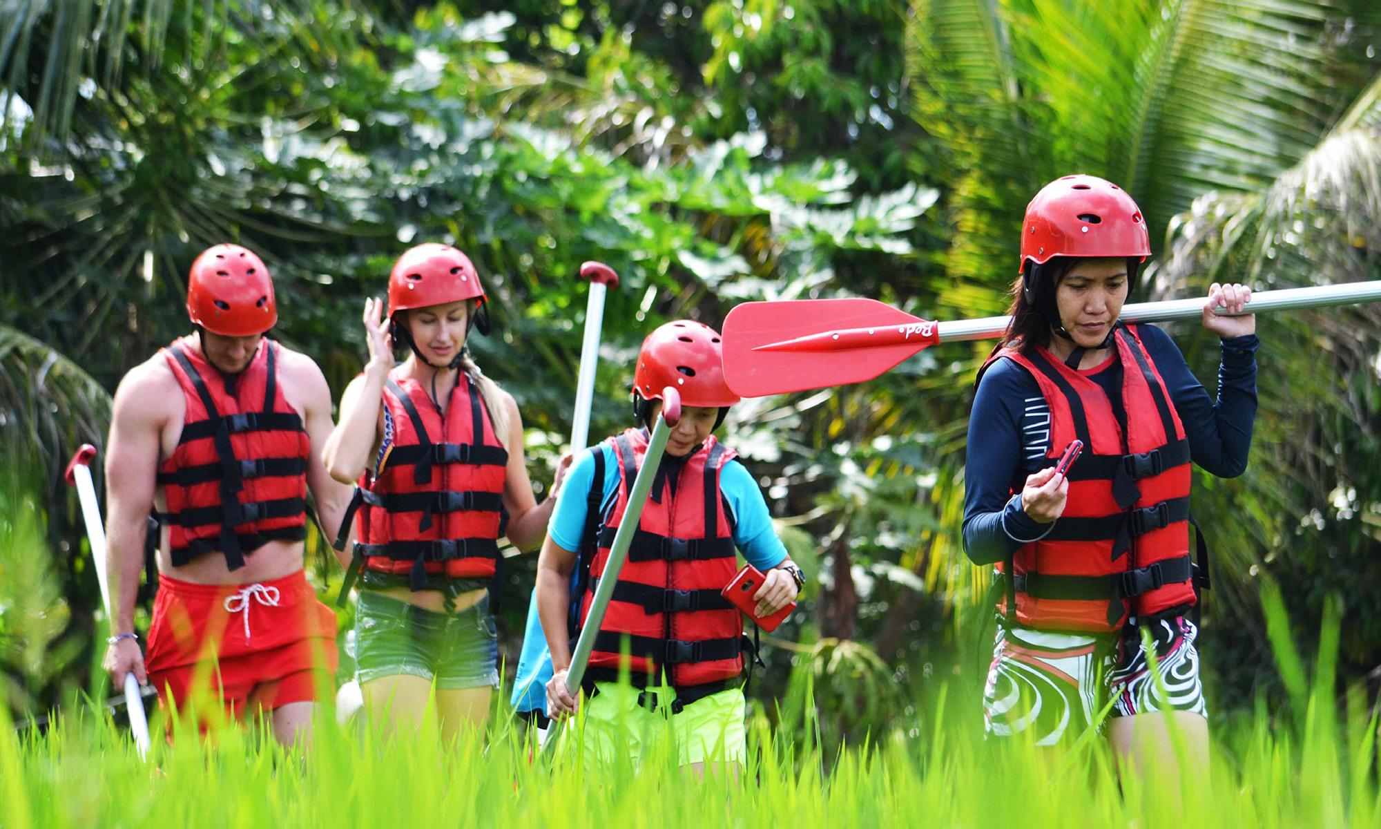 White Water Rafting Adventure Through Ayung River Ubud 1