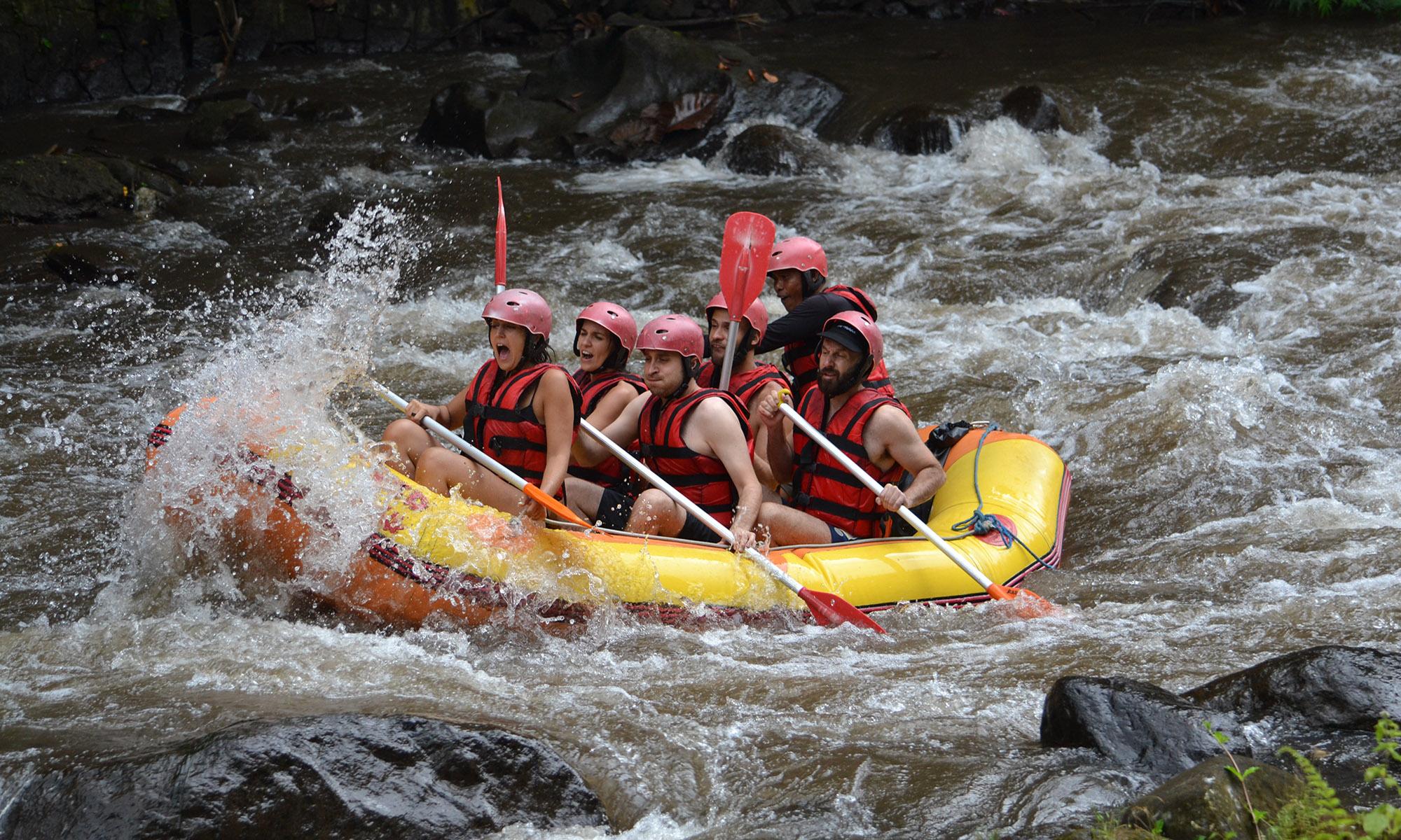 White Water Rafting Adventure Through Ayung River Ubud 3