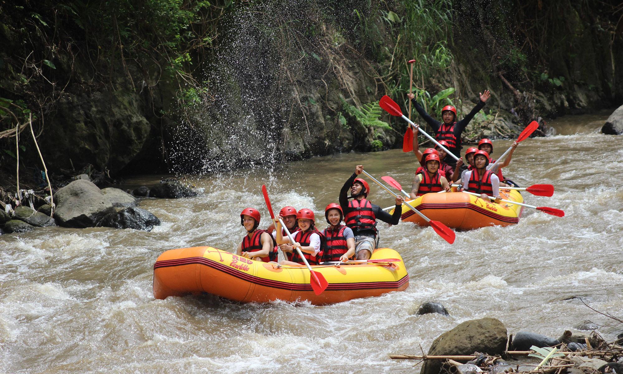 White Water Rafting Adventure Through Ayung River Ubud 4