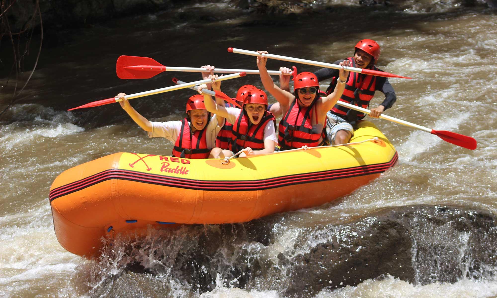 White Water Rafting Adventure Through Ayung River Ubud 5