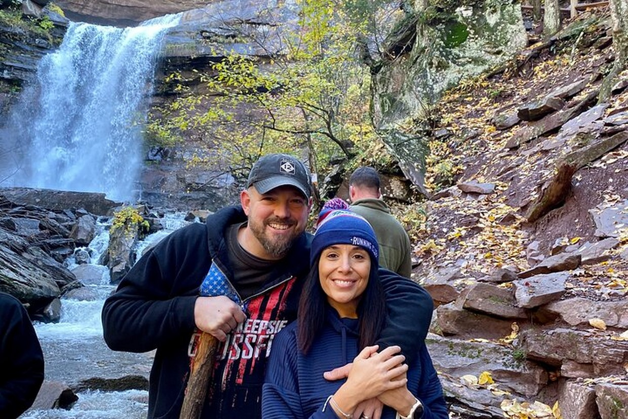 Zip Lining & Waterfall Hike in the Catskills Mountain NY 2