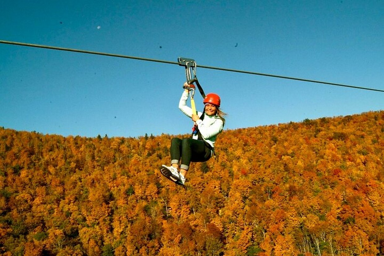 Zip Lining & Waterfall Hike in the Catskills Mountain NY 3