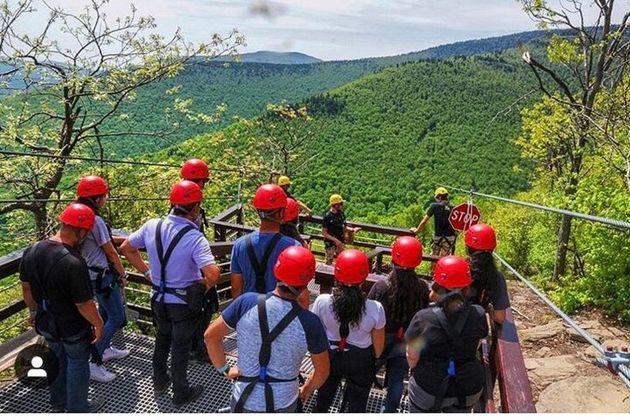 Zip Lining & Waterfall Hike in the Catskills Mountain NY 6