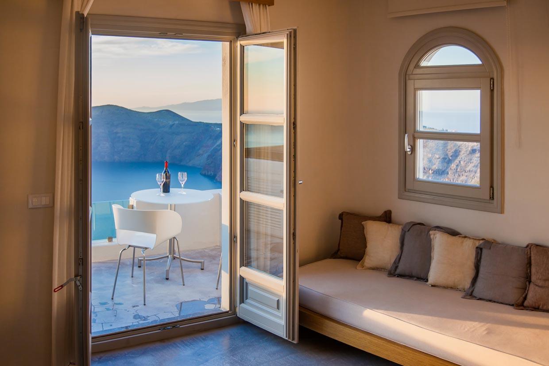 Accommodation in Santorini