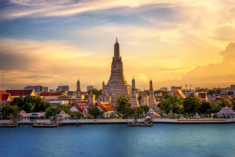 Bangkok Riverside in Thailand