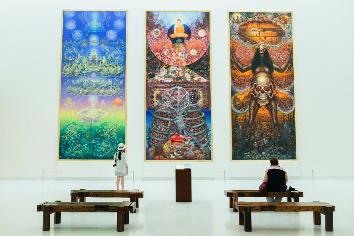 Museum of Contemporary Arts in Thailand