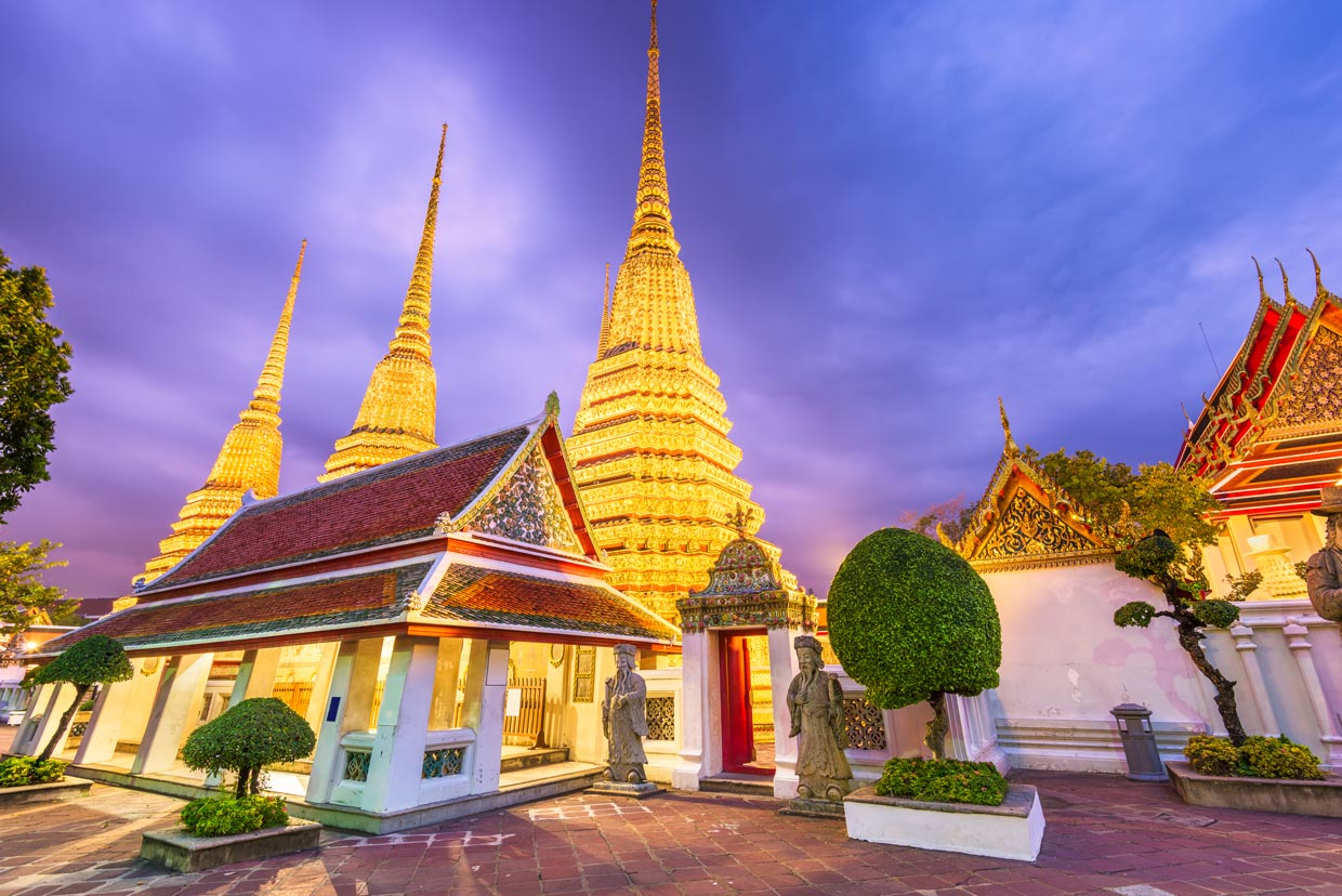 Wat Pho Temple in Thailand