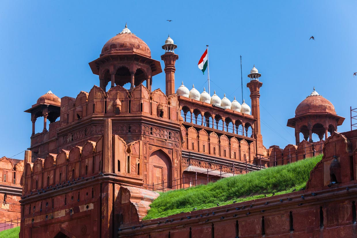 The Red fort in India