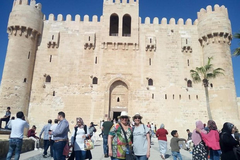Giza Pyramids Museum Alexandria and Cairo City Tour 9