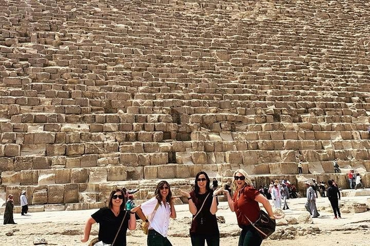 Guided Giza Pyramids Tour with Dinner Cruise and Camel Ride 4