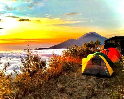 mt batur volcano camping