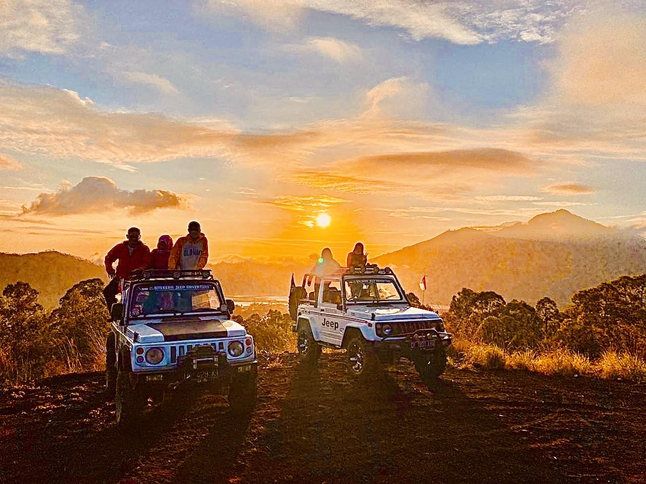Batur Sunrise Volcano Jeep Tour