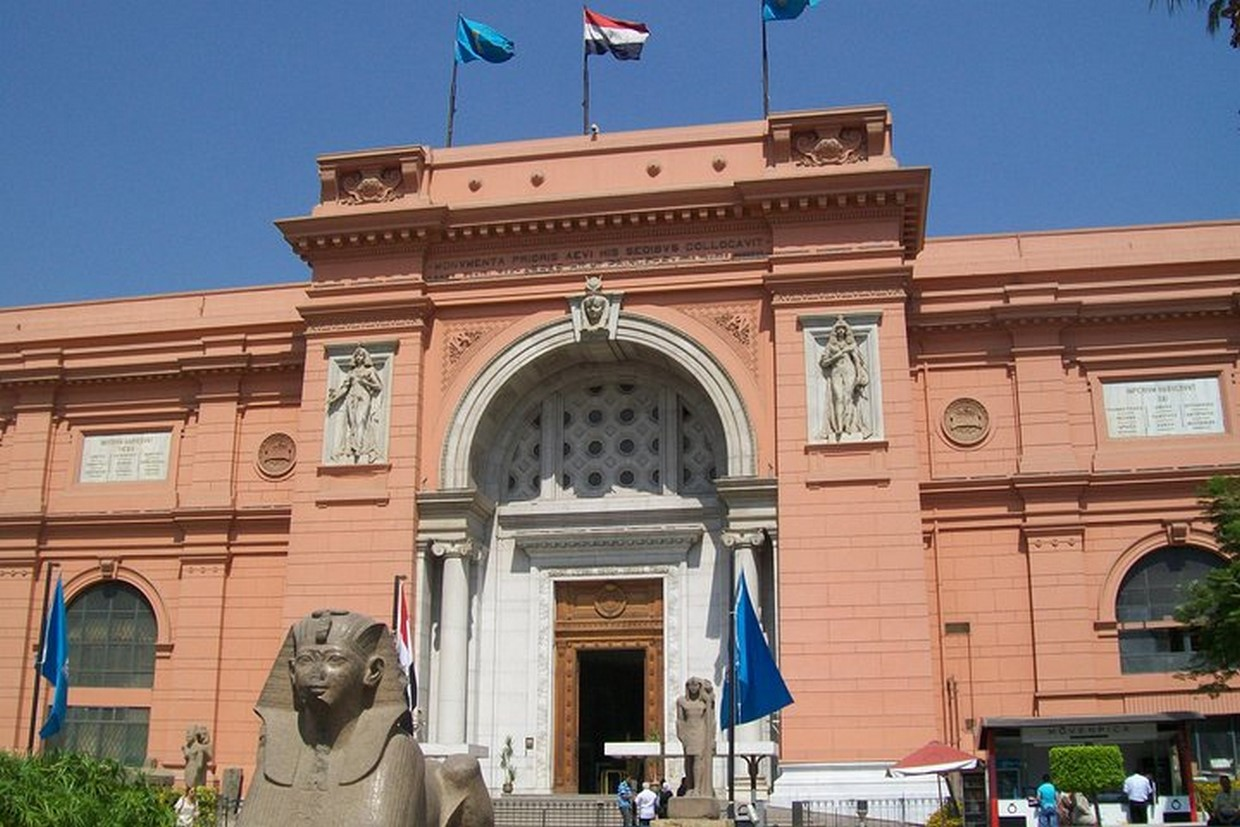 Full Day Giza Pyramids and Egyptian Museum 1
