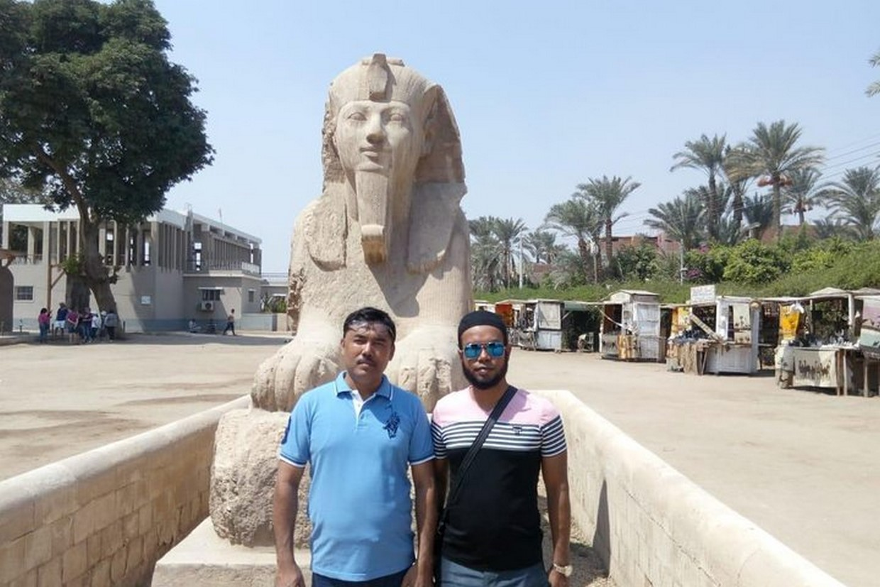 Full-Day Tour Pyramids of Giza ,Sphinx ,Memphis and Saqqara from Cairo 6