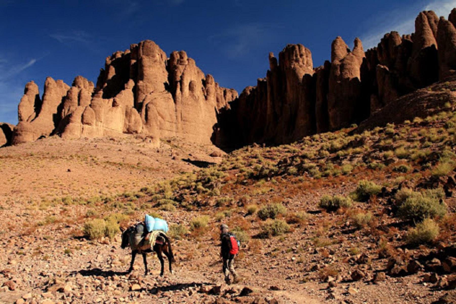 Wonderful Trek in Jbel Saghro Mountains 1