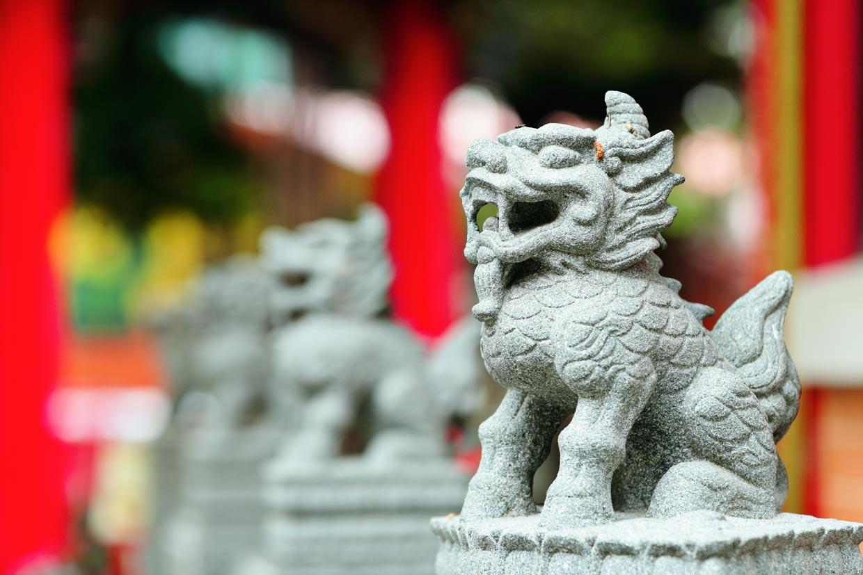 Dragon in China