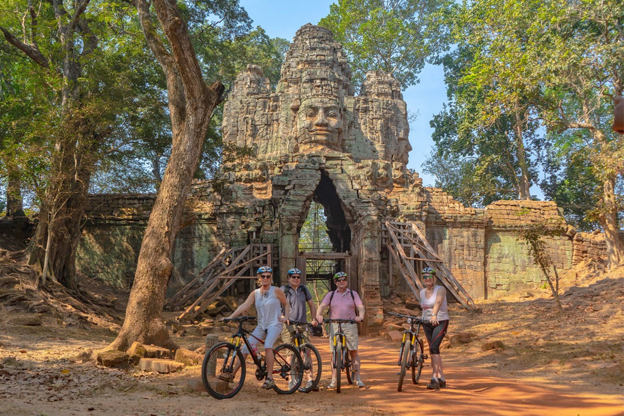 Angkor to Phnom Penh by Bicycle