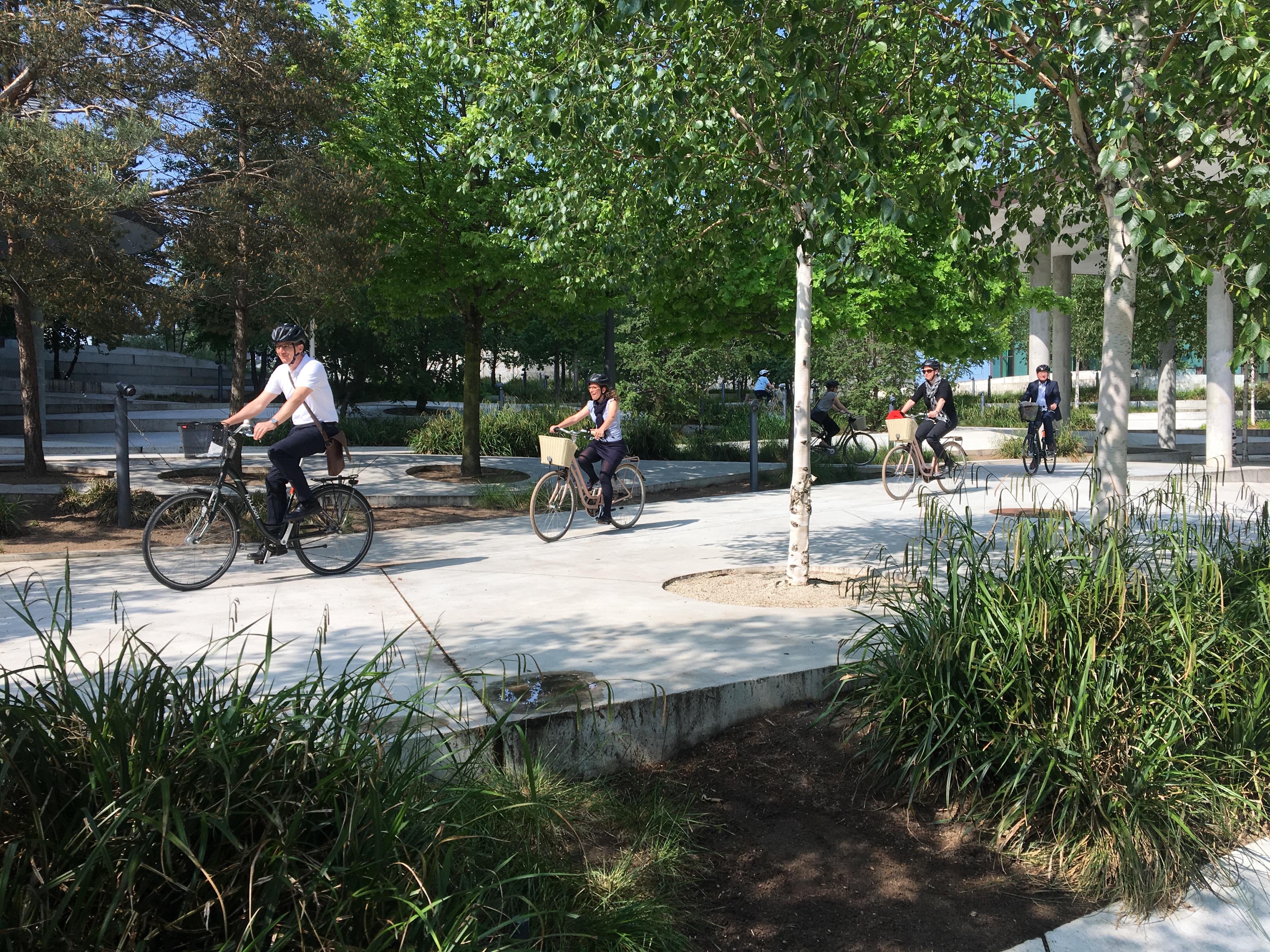 The Sustainable Copenhagen of the Future Biking Tour 2