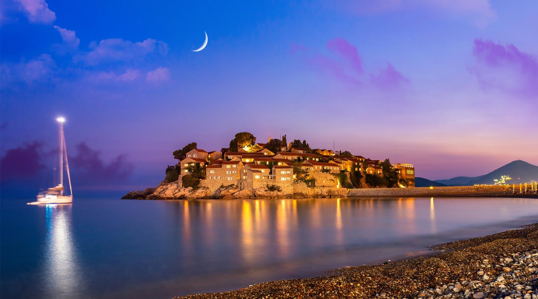 Sveti Stefan, Montenegro – Mediterranean's Unique Sight