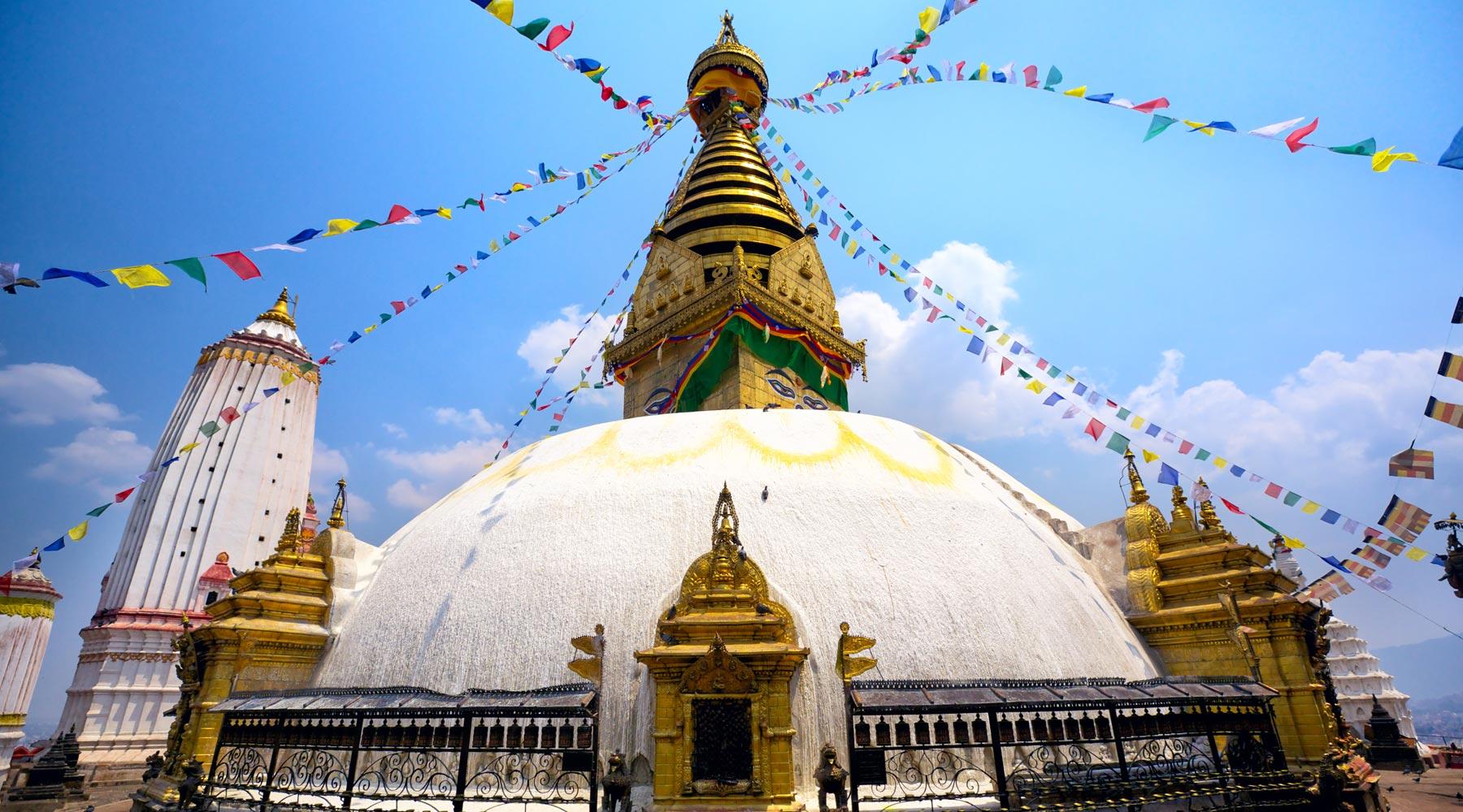 Swayambhunath in Nepal