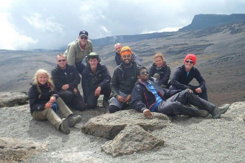 Tramping Mount Kilimanjaro Via Ubwe Route 1
