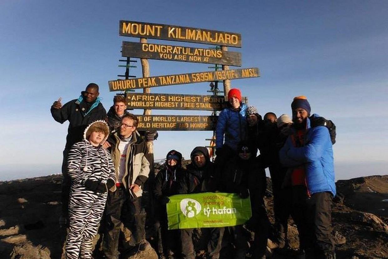 Mount Kilimanjaro Hiking Via Marangu Route 9