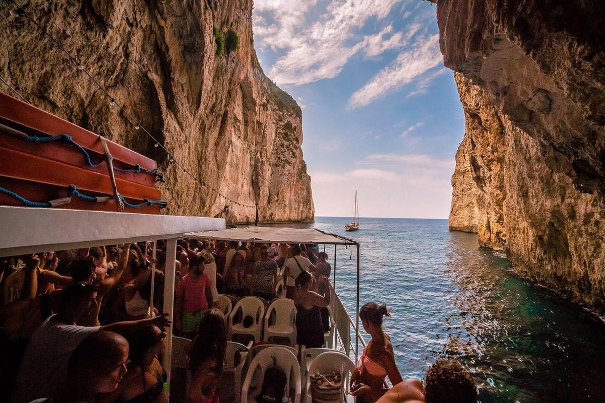 Cruise from Corfu Paxoi