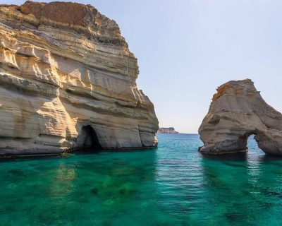 Half Day Boat Tour to Kleftiko from Milos