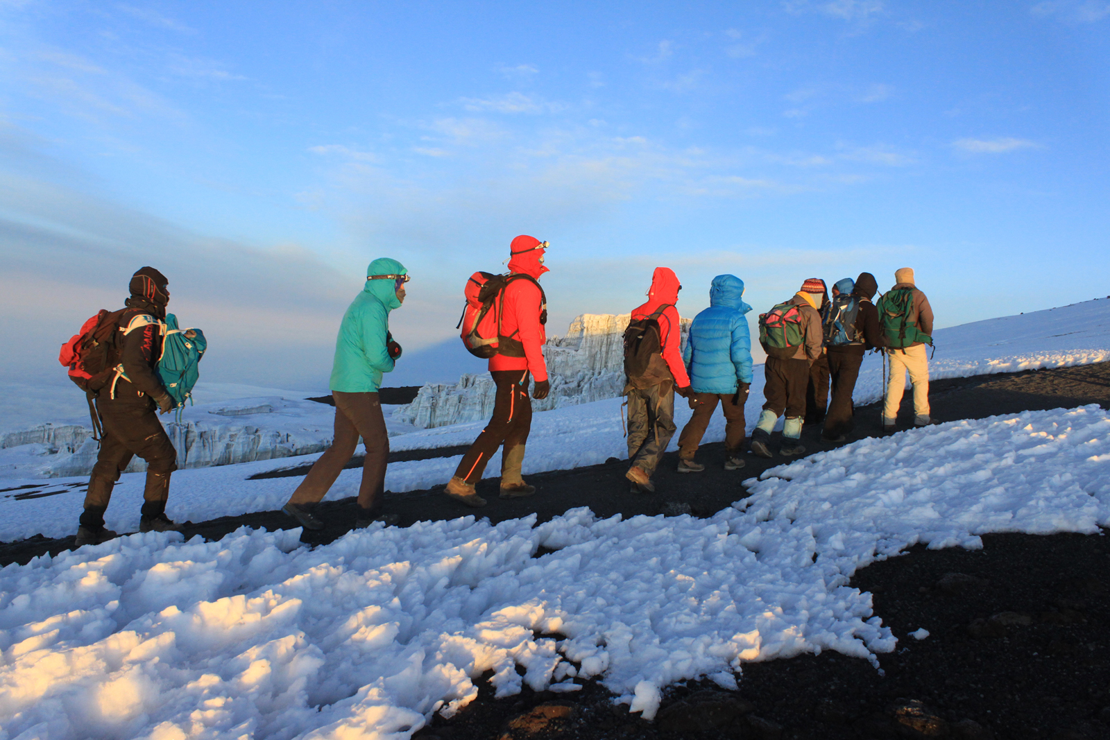 8 Days Lemosho route climb