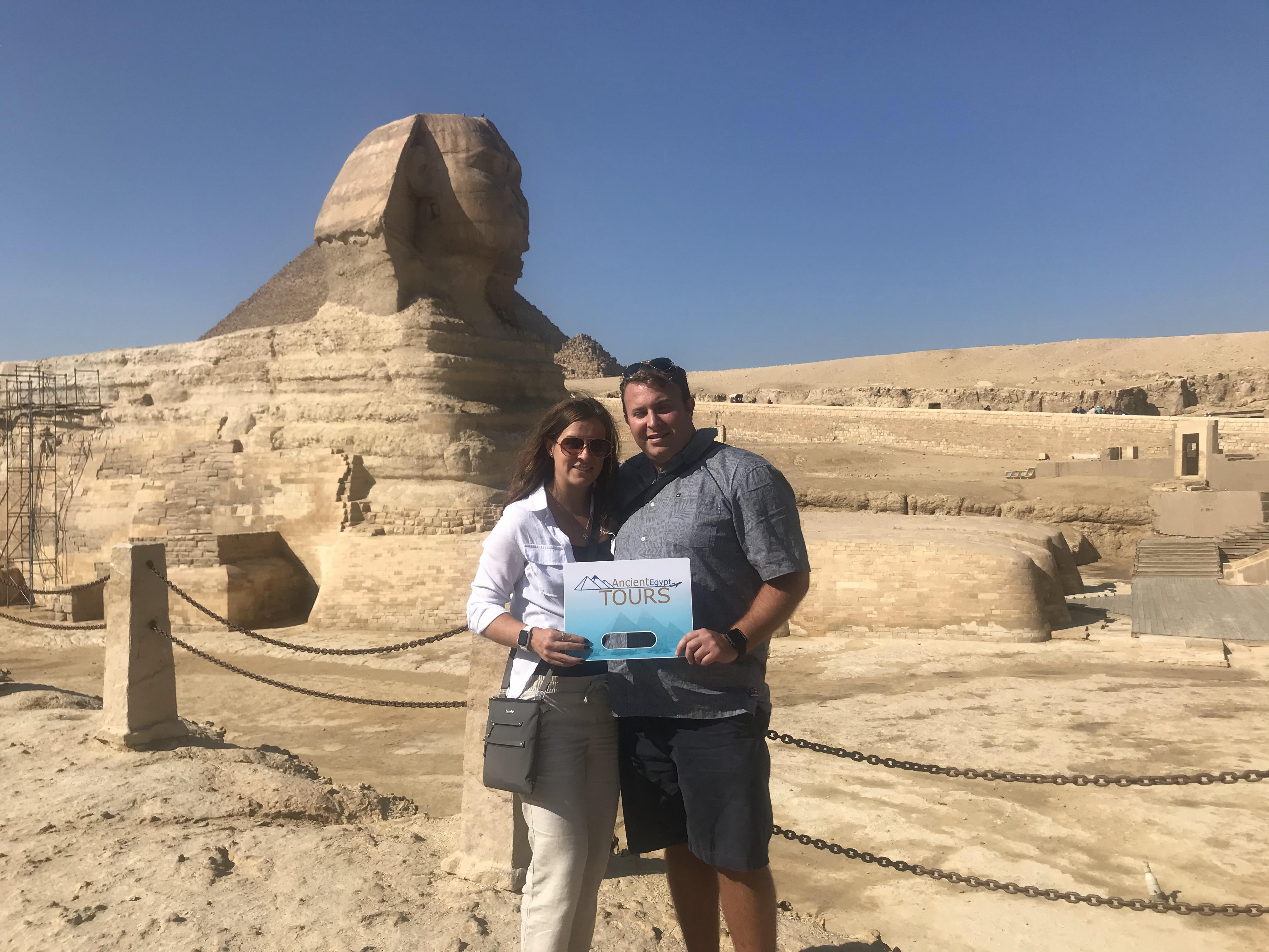 Private Day Tour to Giza Pyramids, Sphinx, Sakkara & Dahshur Pyramids 2