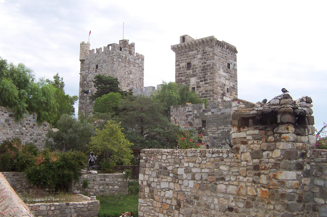 Bodrum Castle - The Castle of St. Peter in Bodrum 1