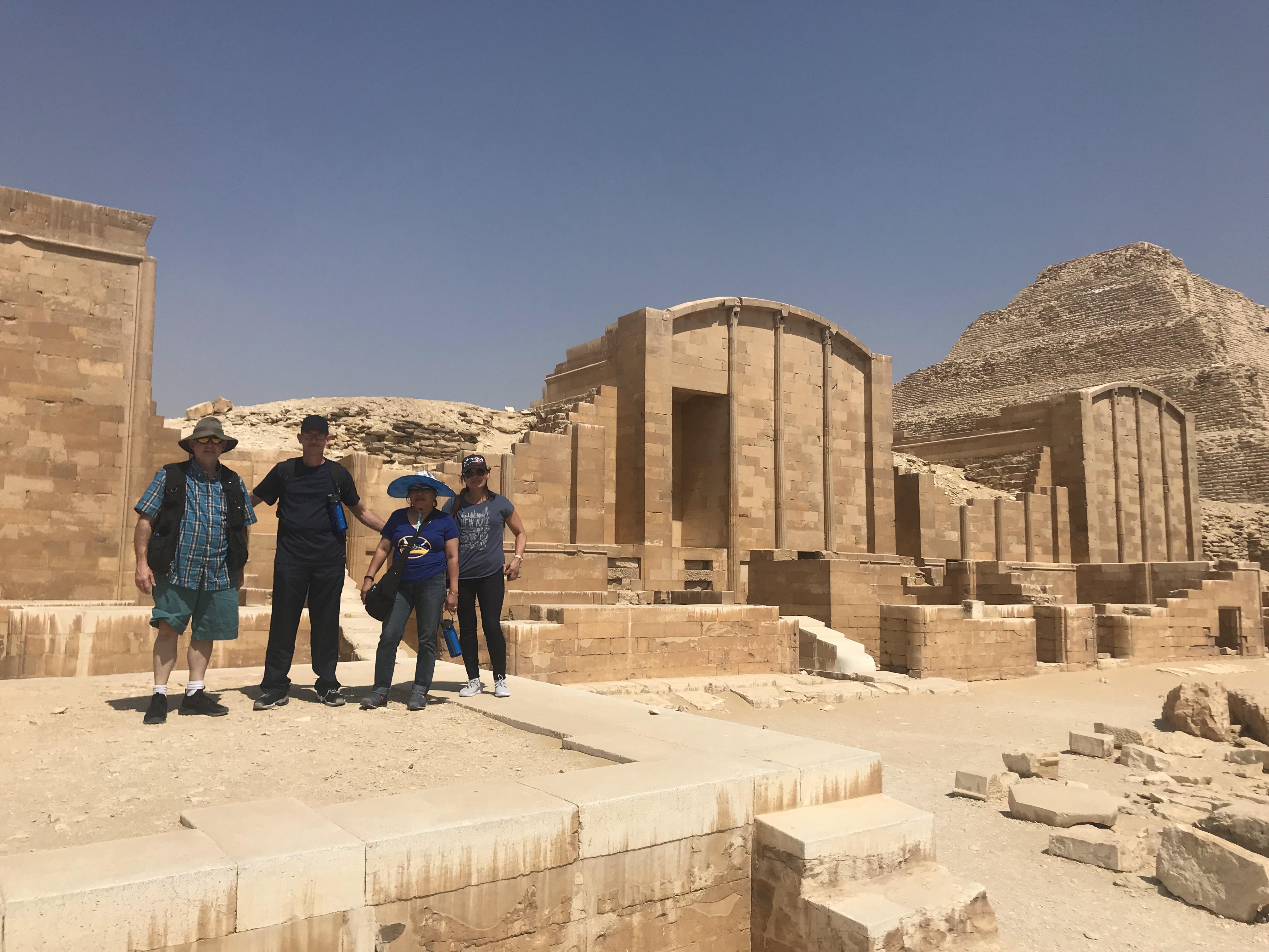 Day Tour from Cairo to Dahshur Pyramids, Sakkara & Memphis 4