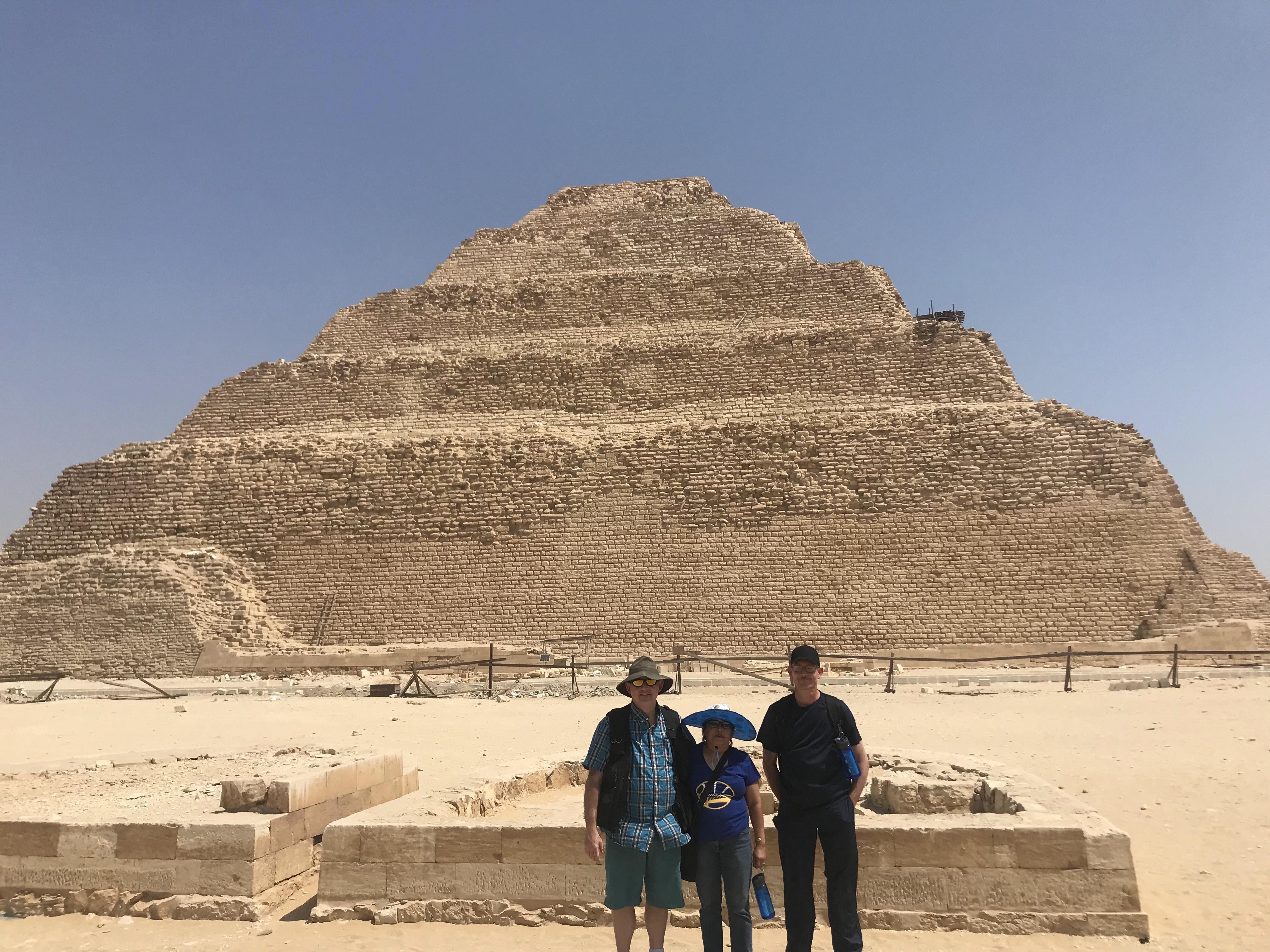 Day Tour from Cairo to Dahshur Pyramids, Sakkara & Memphis 3