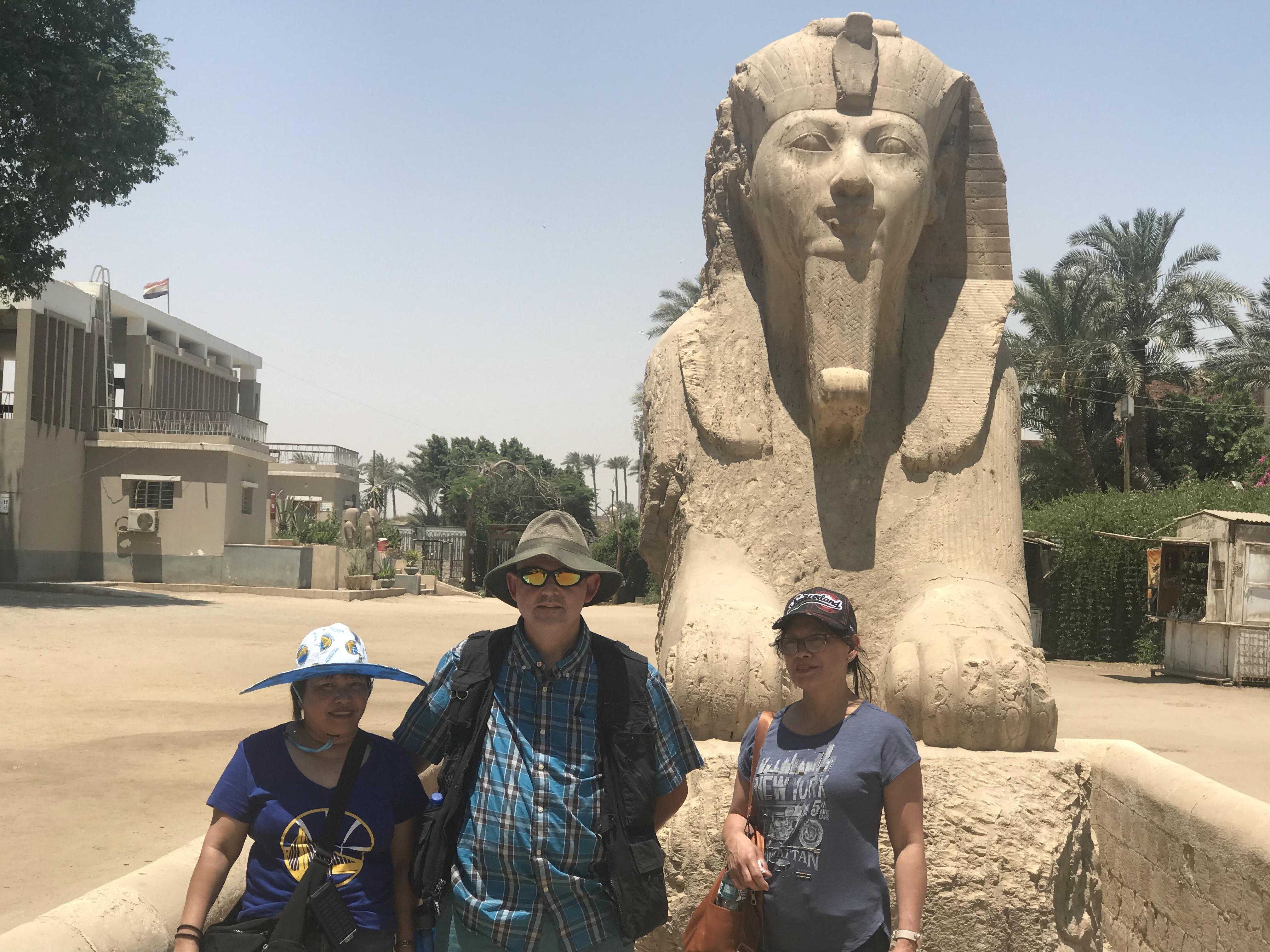Day Tour from Cairo to Dahshur Pyramids, Sakkara & Memphis 1