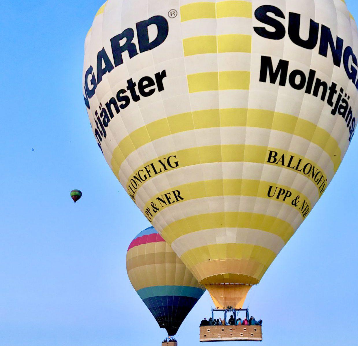 Hot Air Balloon Over Marrakech 1