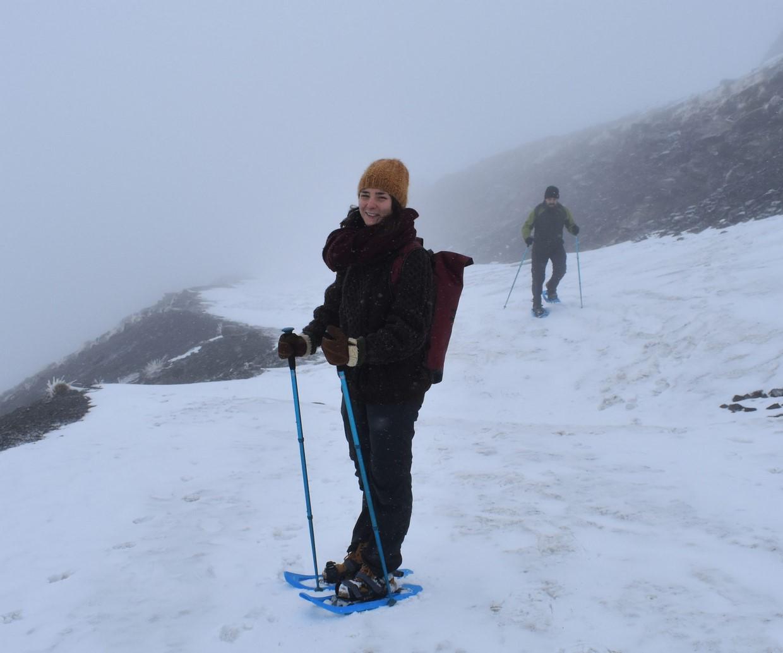 Snowshoe Hiking in Sierra Nevada 3